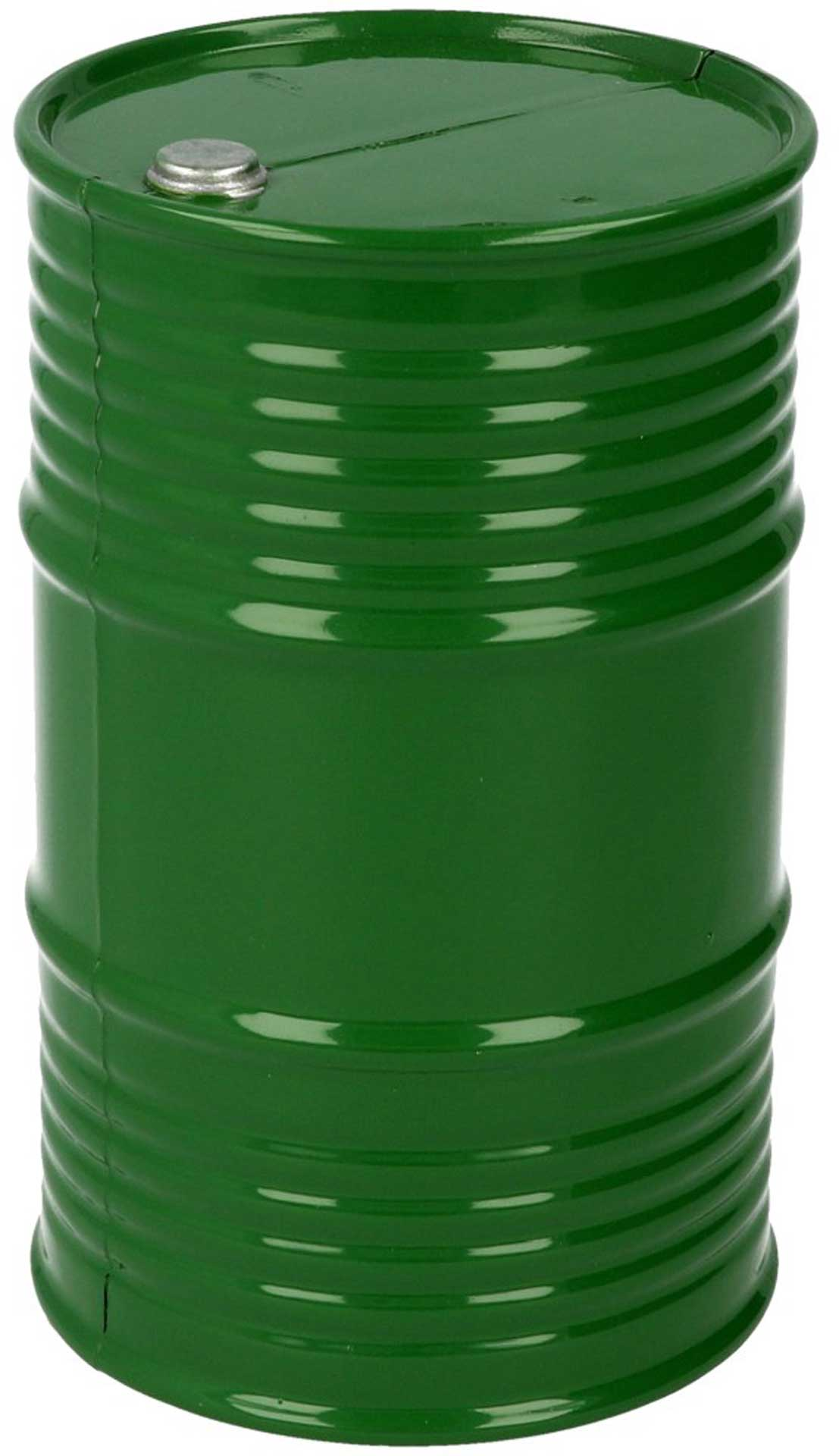 ROBITRONIC Oil Barrel Plastic Green 95x60mm