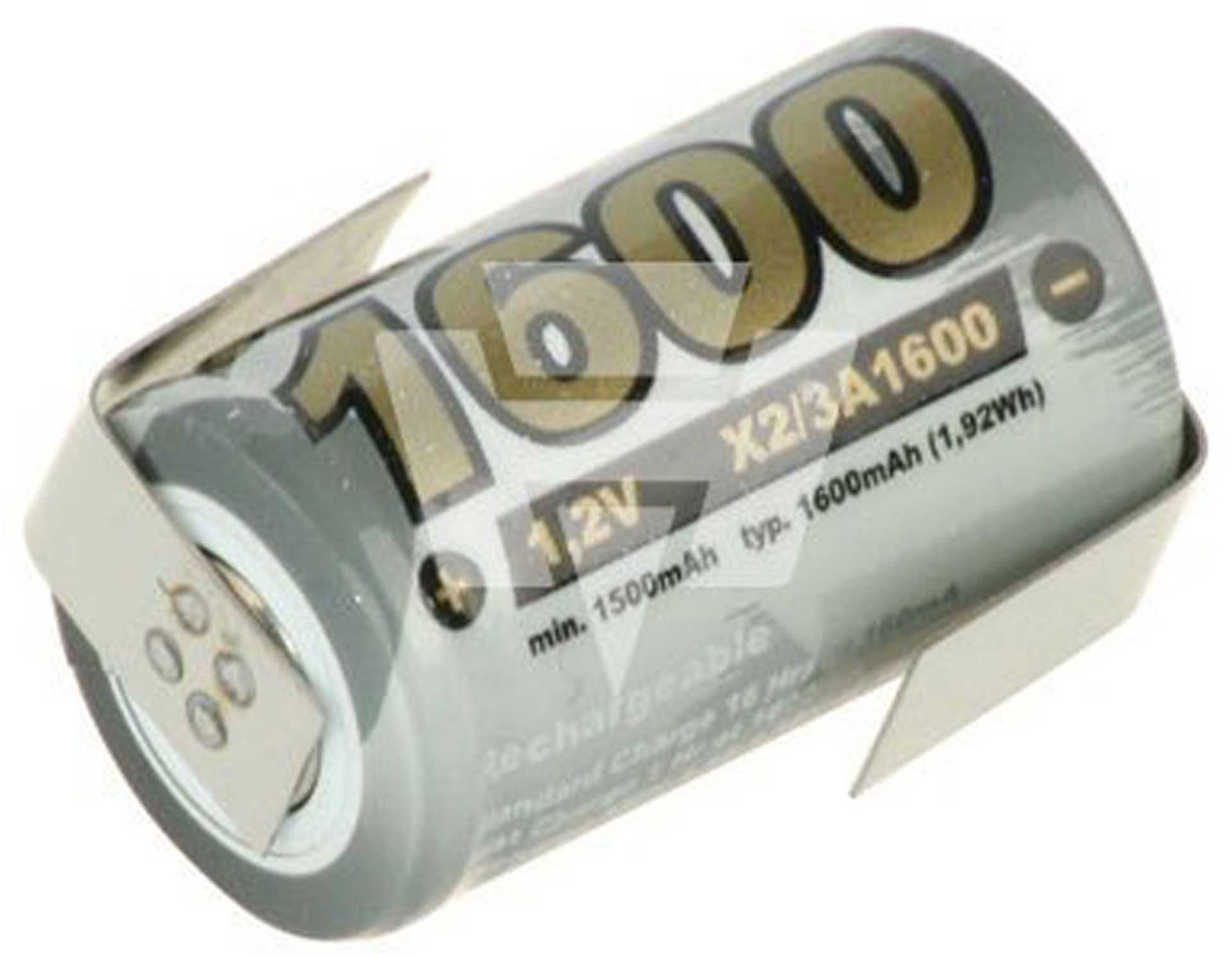 XCELL 2/3A NI-MH 1,2V 1600MAH +LF