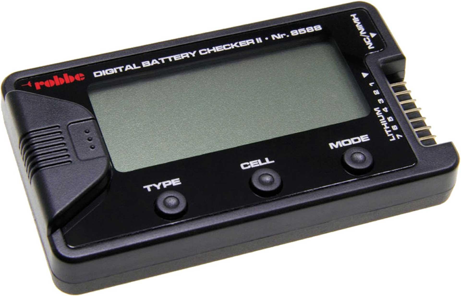 Robbe Modellsport Digital Battery Checker II