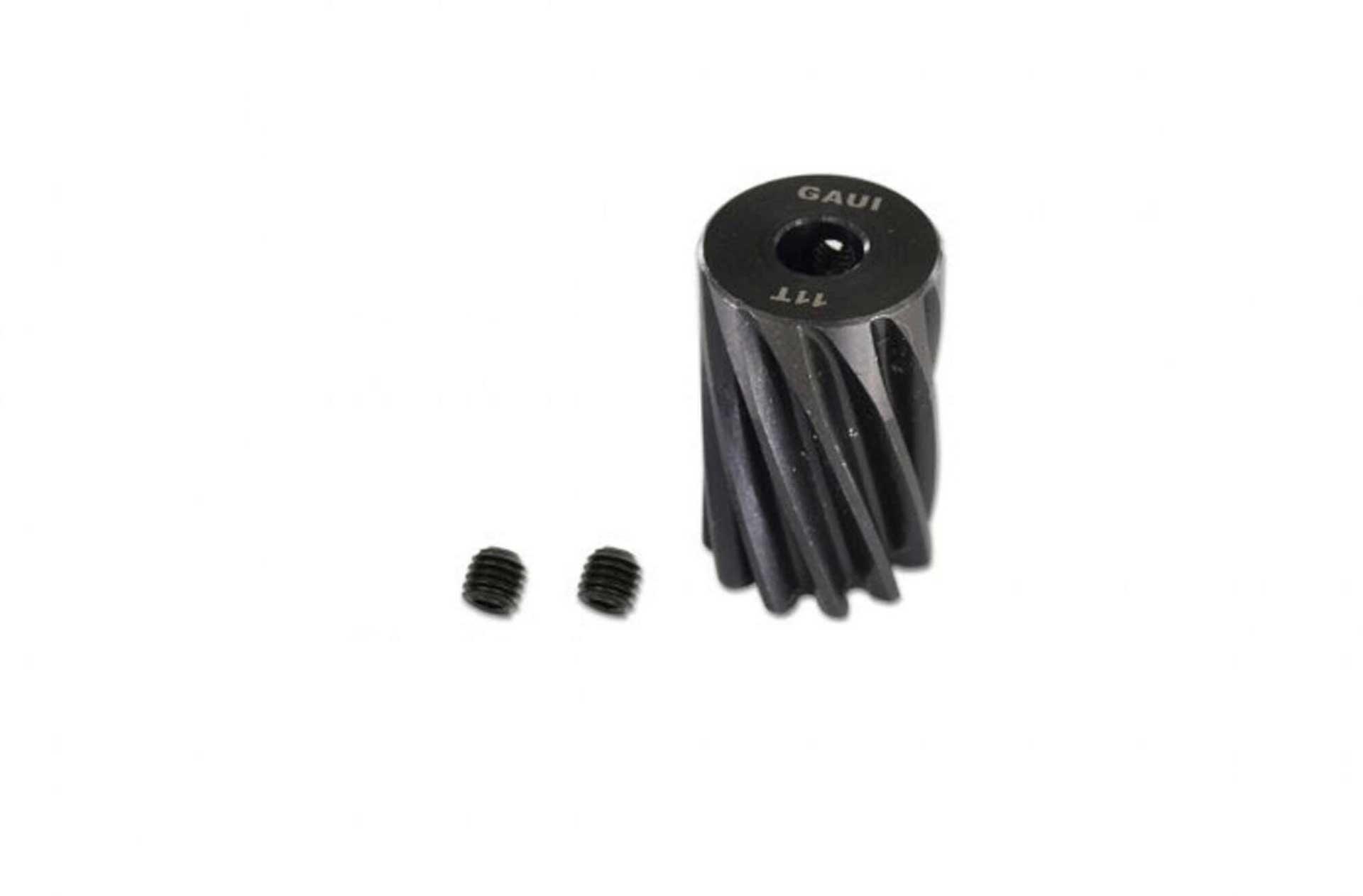 GAUI Steel Pinion Gear 11T (f. 6mm Shaft) X7- ersetzt 217421