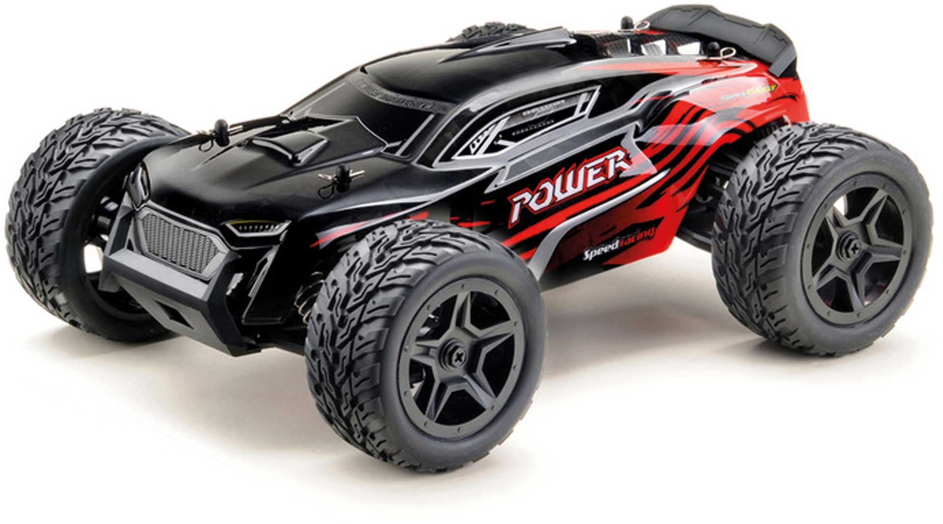 "ABSIMA 1:14 High-Speed Truggy ""POWER"" 4WD RTR schwarz/rot"