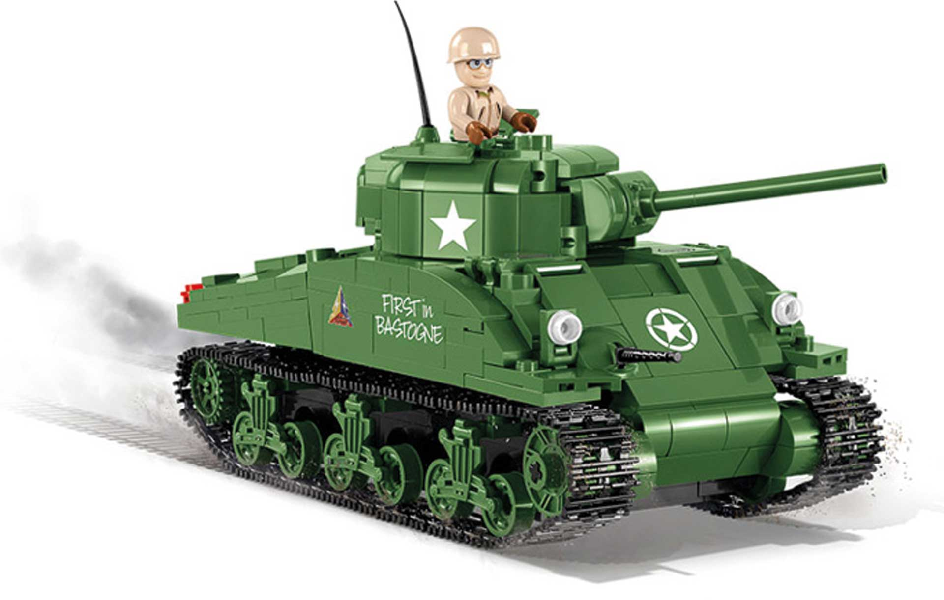 COBI M4 Sherman (500 Teile) (World of Tanks) Klemmbausteine