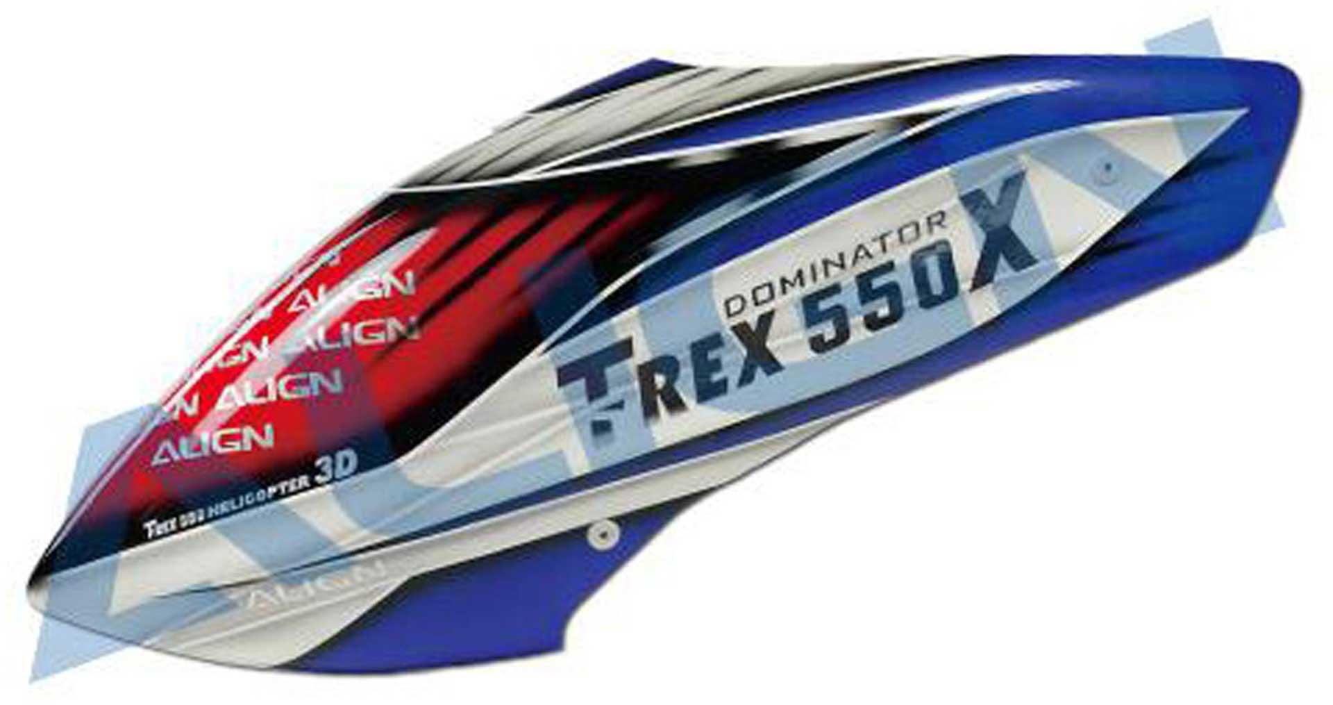 ALIGN 550X Kabinenhaube, lackiert