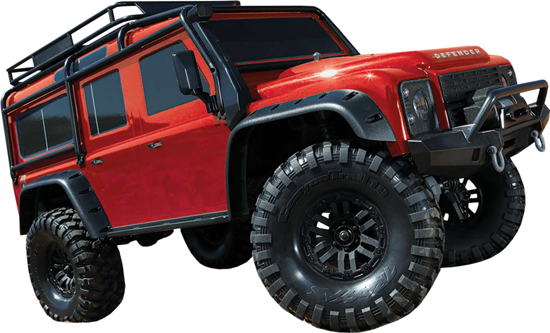 TRAXXAS TRX-4 LAND ROVER DEFENDER RTR 1710 4WD