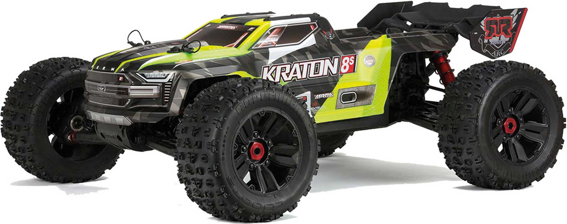 Arrma 1/5 KRATON 4WD 8S BLX Speed Monster Truck RTR:GRN