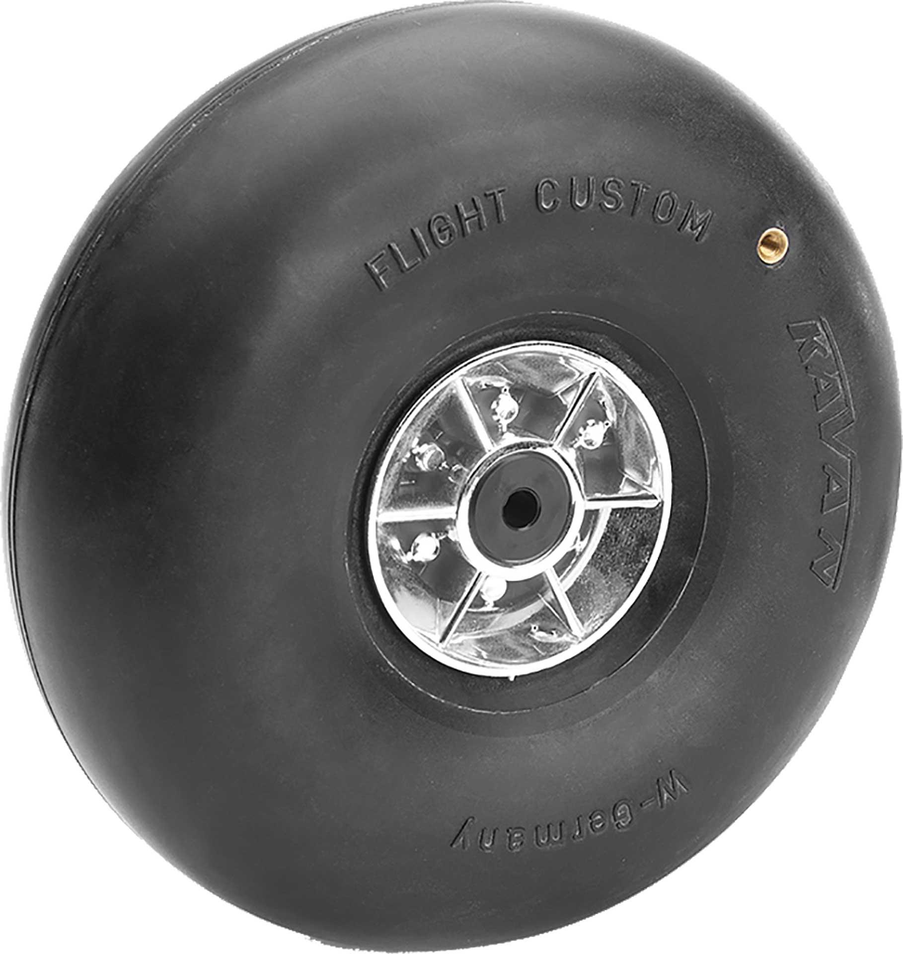Kavan Roue ballon avec valve 125mm 2 pièces