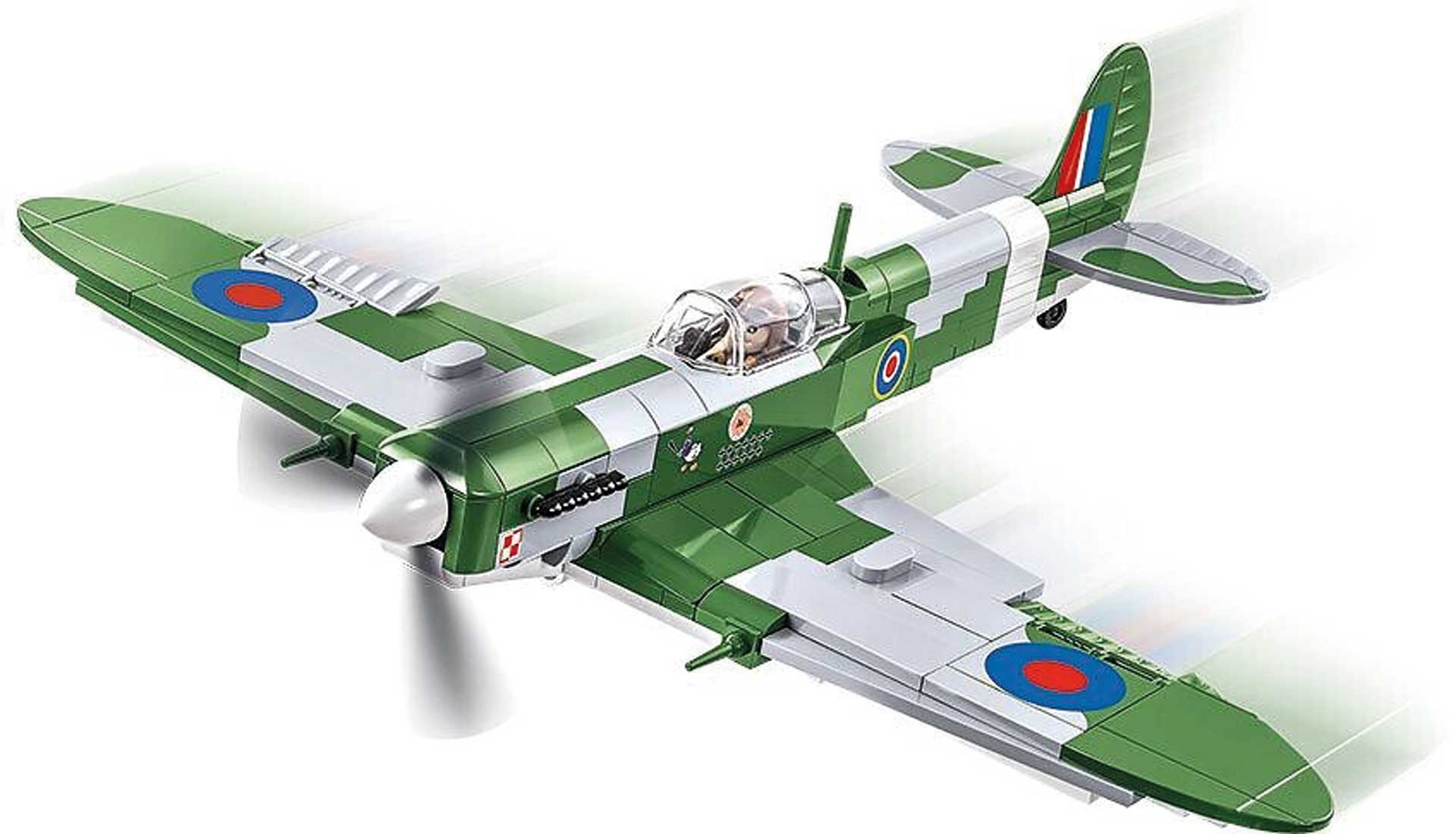 COBI Supermarine Spitfire Mk. VB (280 Teile) Klemmbausteine