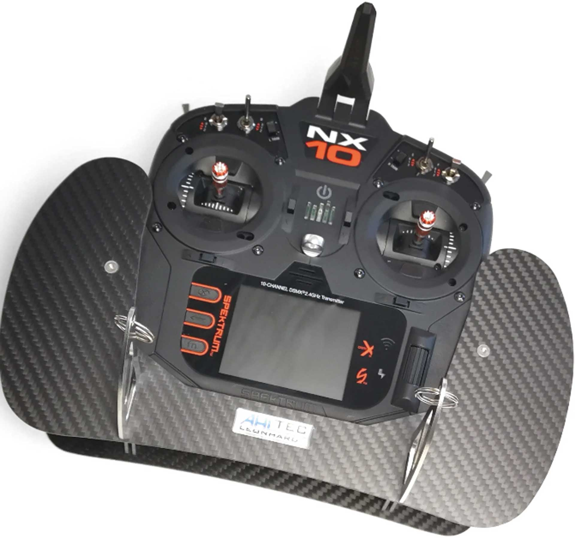 AHLTEC Transmitter console Spektrum NX 6/8/10 carbon, without hand rests