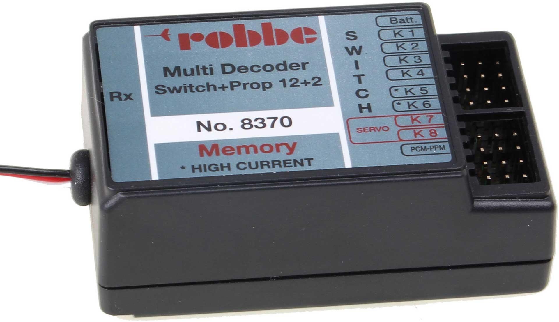 Robbe Modellsport MULTI-SWITCH-DECODER 12+2