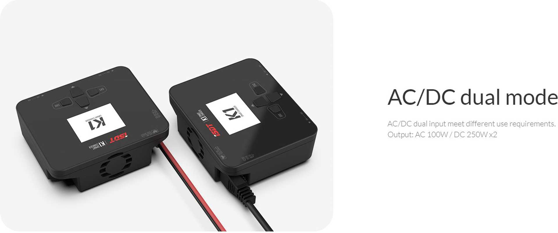 ISDT K1 Dual Charger AC 100W / DC 250Wx2 Ladegerät