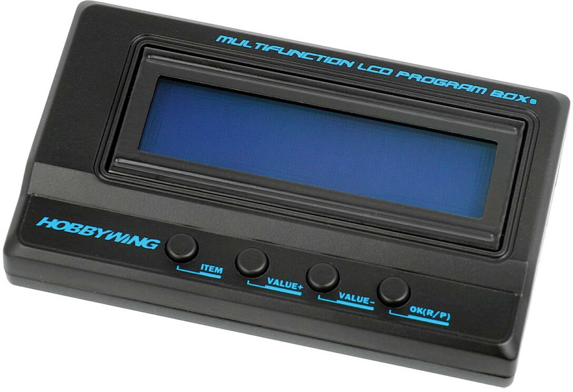 HOBBYWING LCD Programmierbox G2 für Xerun, Ezrun und Platinum Regler