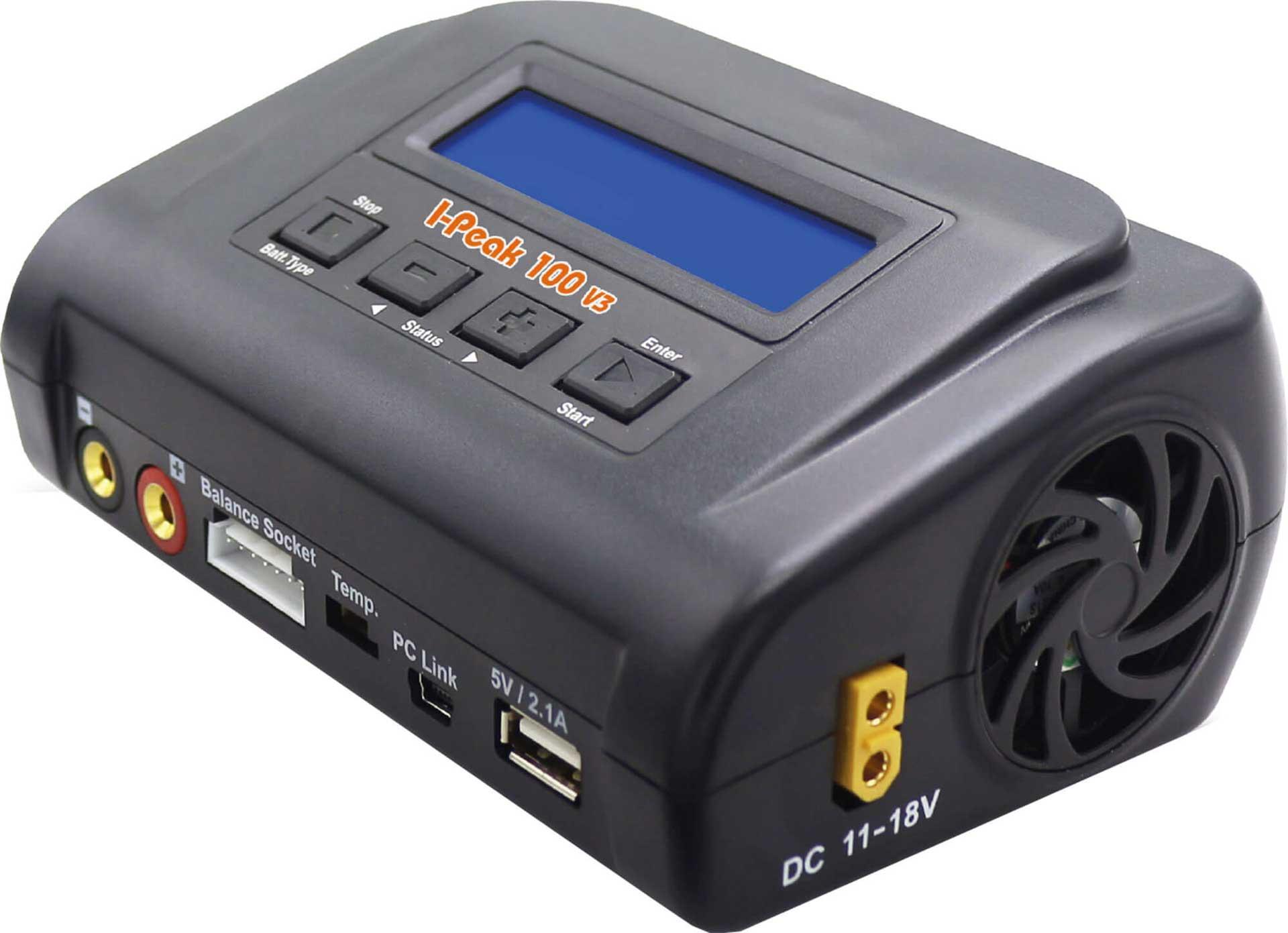 DRIVE & FLY MODELS I-PEAK 100 V3 AC/DC LADEGERÄT