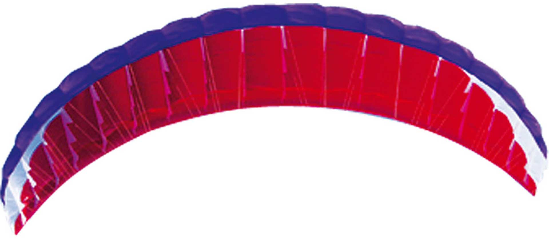PARA-RC RC-FLAIR 4.5 PARACHUTE VIOLET/WHITE/RED VIOLET / WHITE / RED