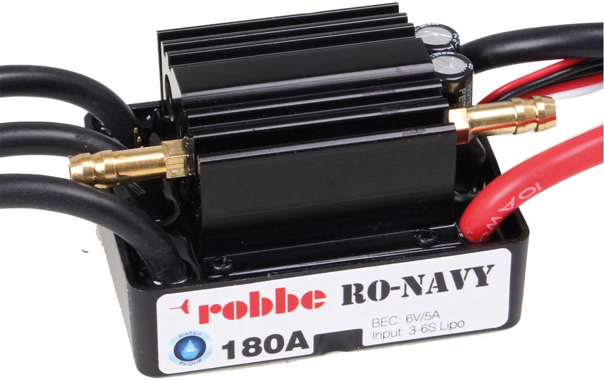 Robbe Modellsport RO-CONTROL NAVY 6-180 3-6S -180A BEC