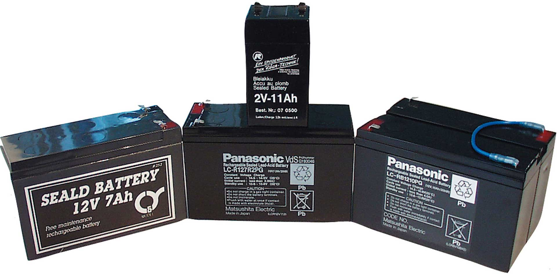 PANASONIC LEAD ACID BATTERY 12V/7.2AH