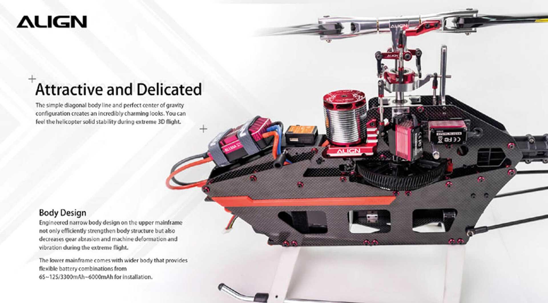ALIGN T-REX 650X Dominator Combo (6S) Hubschrauber / Helikopter