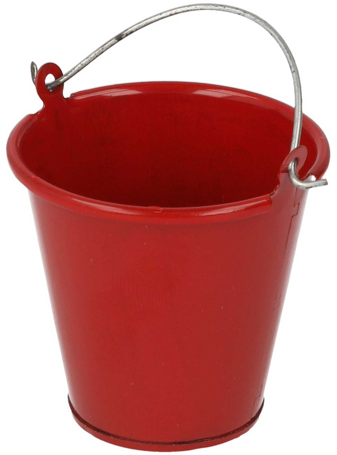 ROBITRONIC Metal Bucket Red 35x35mm