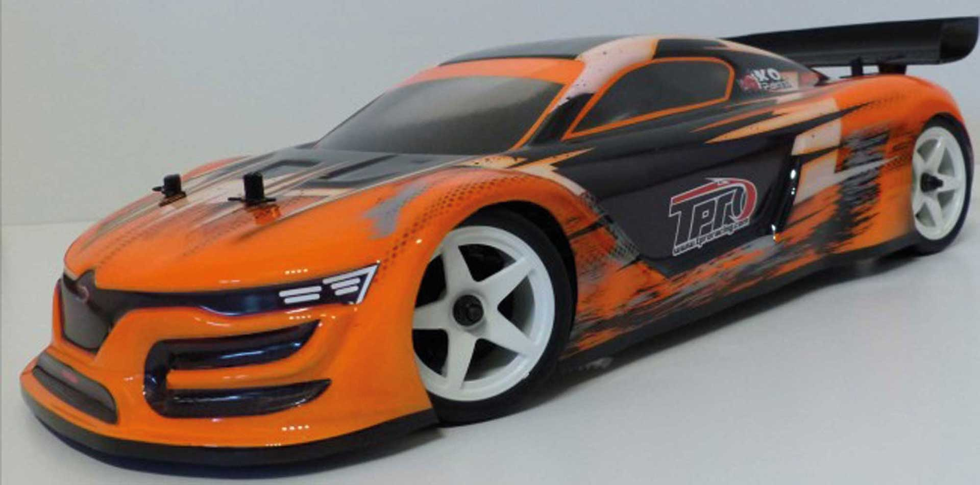 TPRO Body GT3 Touring Car unpainted incl. Sticker