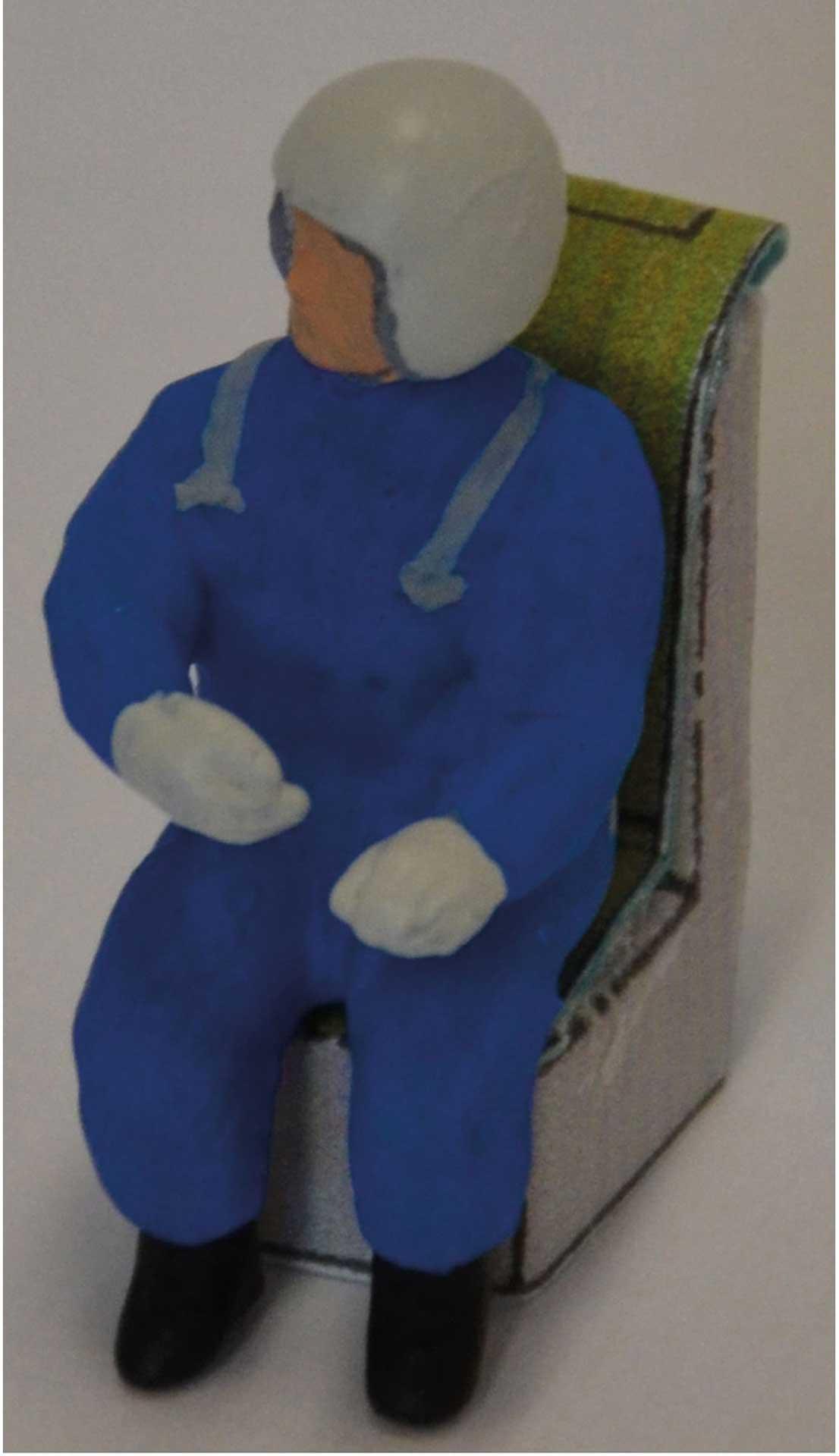 "AR Modellpiloten Jetpilot ""Jim R22"" Farbe blau"