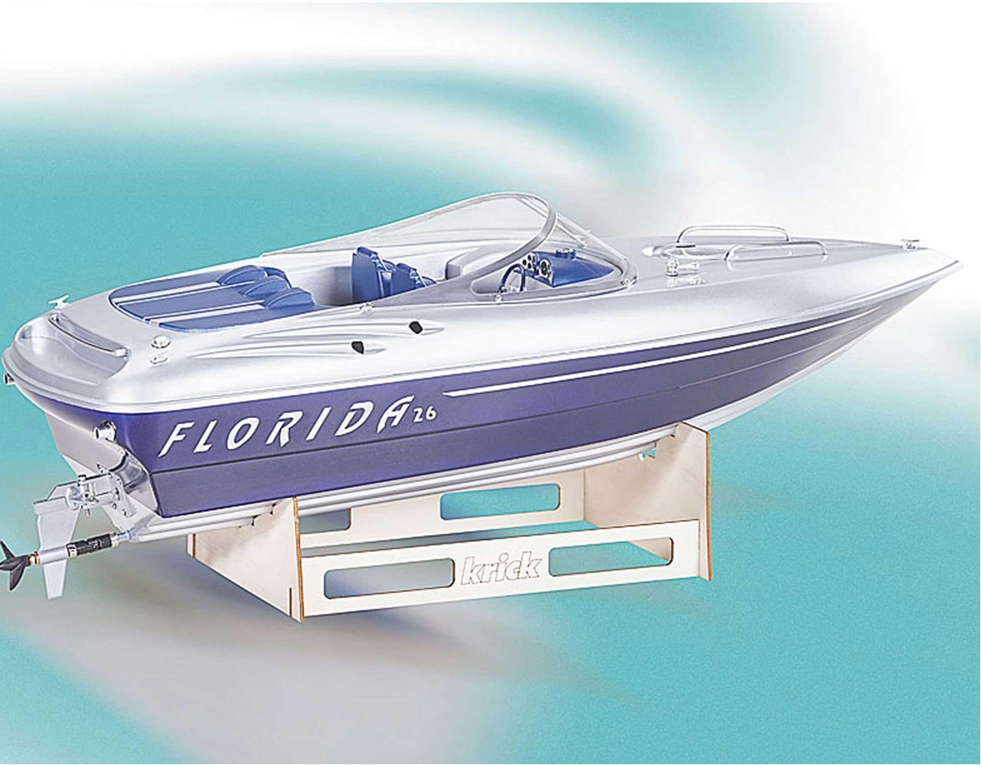 ROMARIN FLORIDA MOTORBOAT KIT 1:10 ELECTRIC