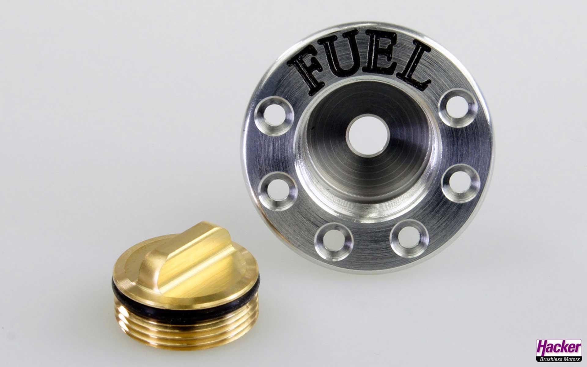 HACKER Refuelling valve FUEL lockable