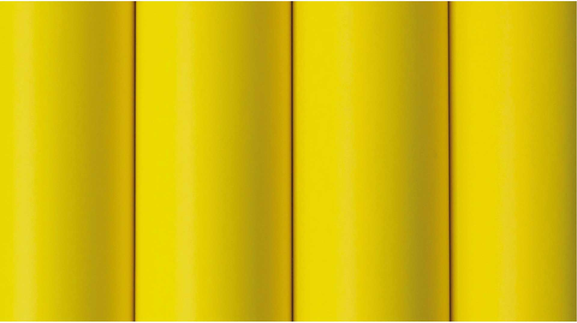 Oracover Oratex fabric foil signal yellow 2 metre # 33