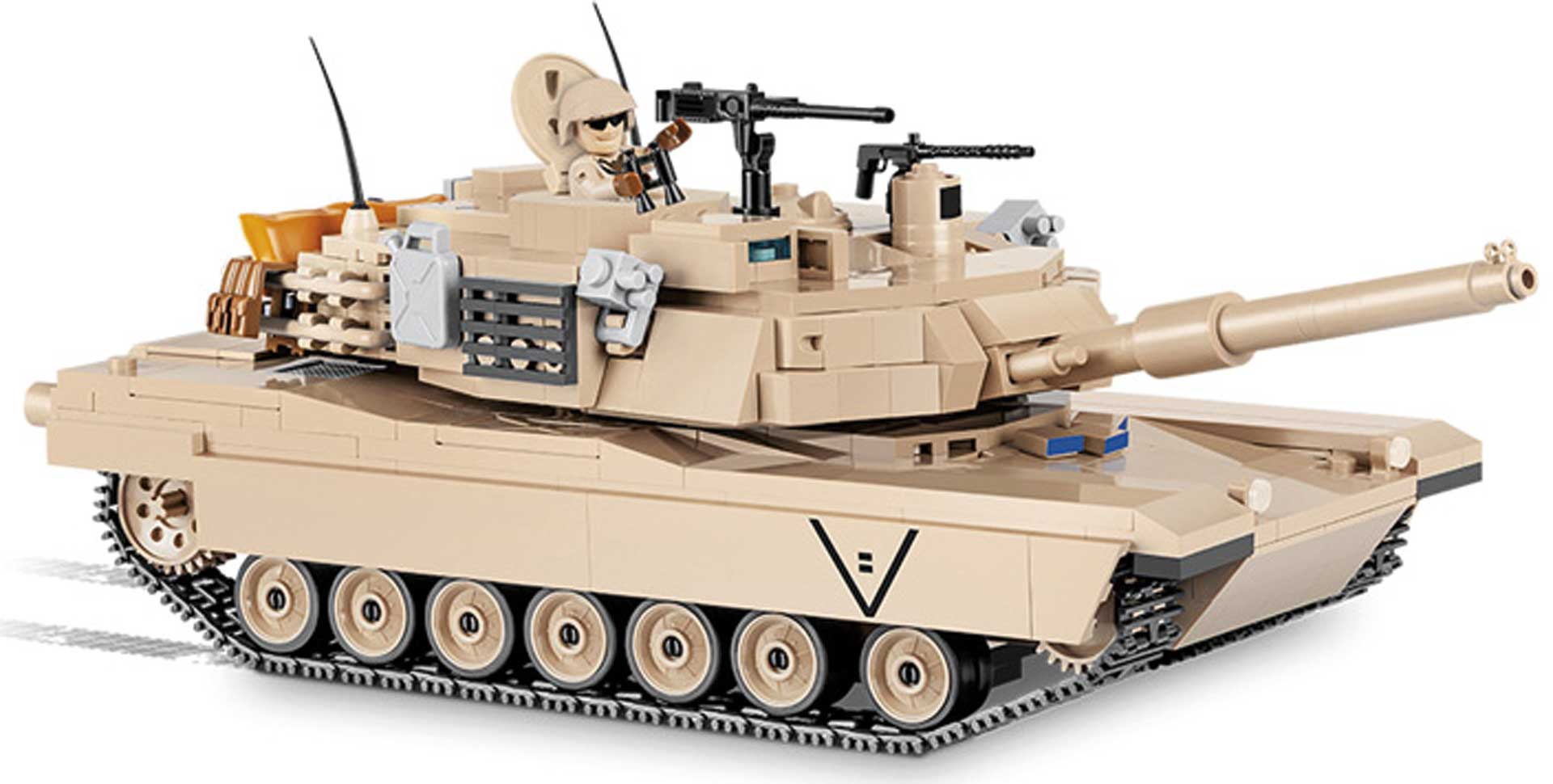 COBI M1A2 Abrams (802 Teile) Klemmbausteine
