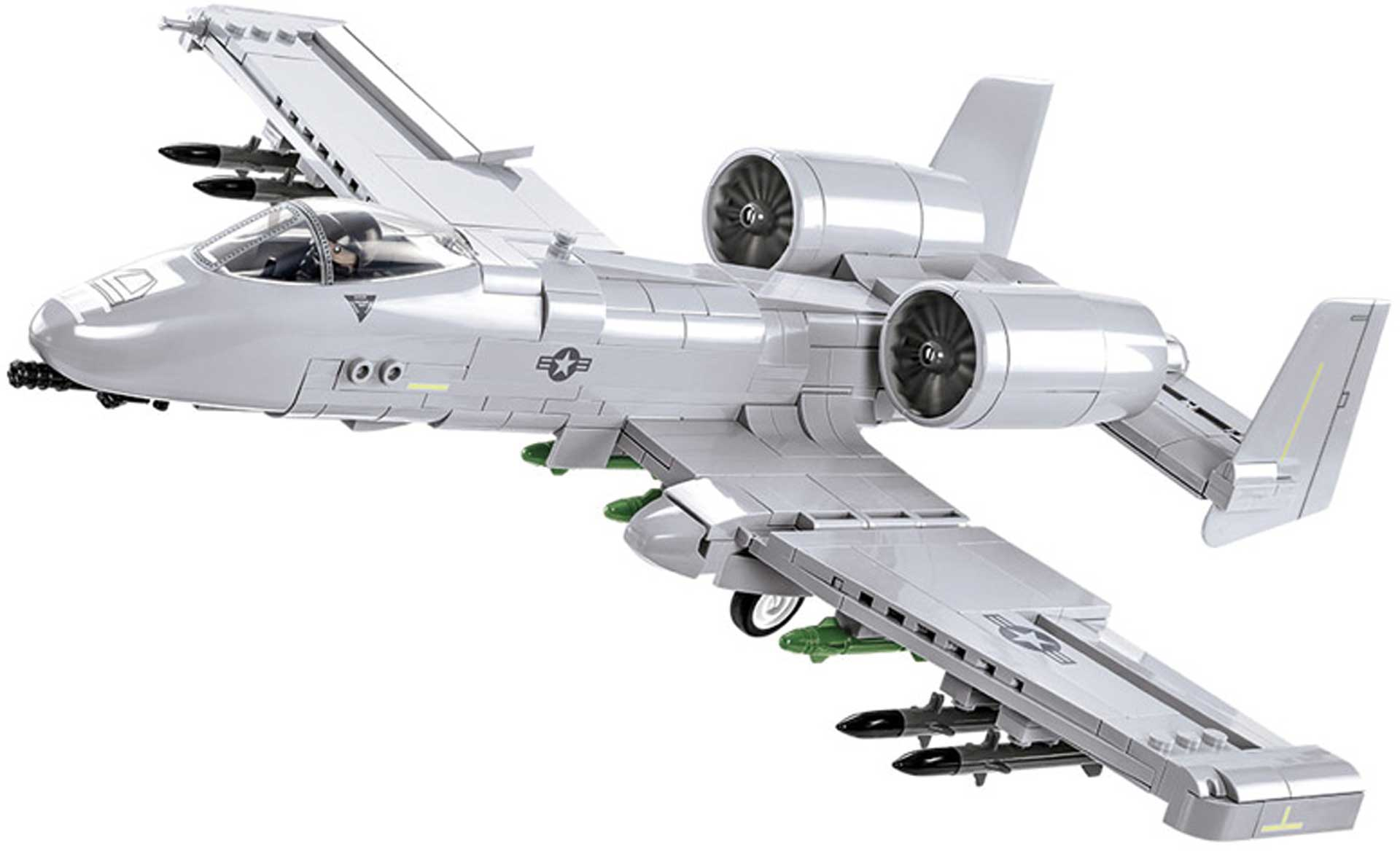 COBI A-10 Thunderbolt II Warthog (568 Teile)
