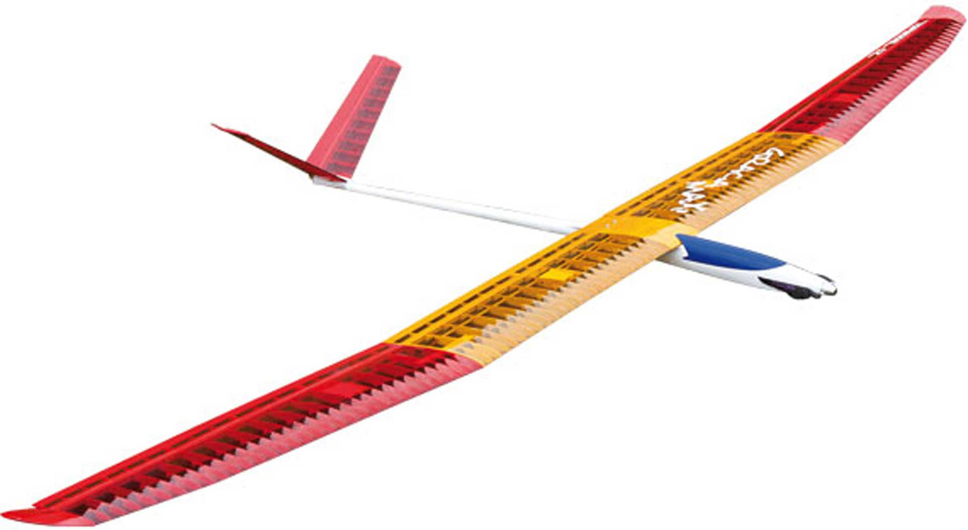 TOPMODEL GRACIA MAXI ARF 3,5M ROT / ORANGE THERMIK ELEKTRO F5J MODELL