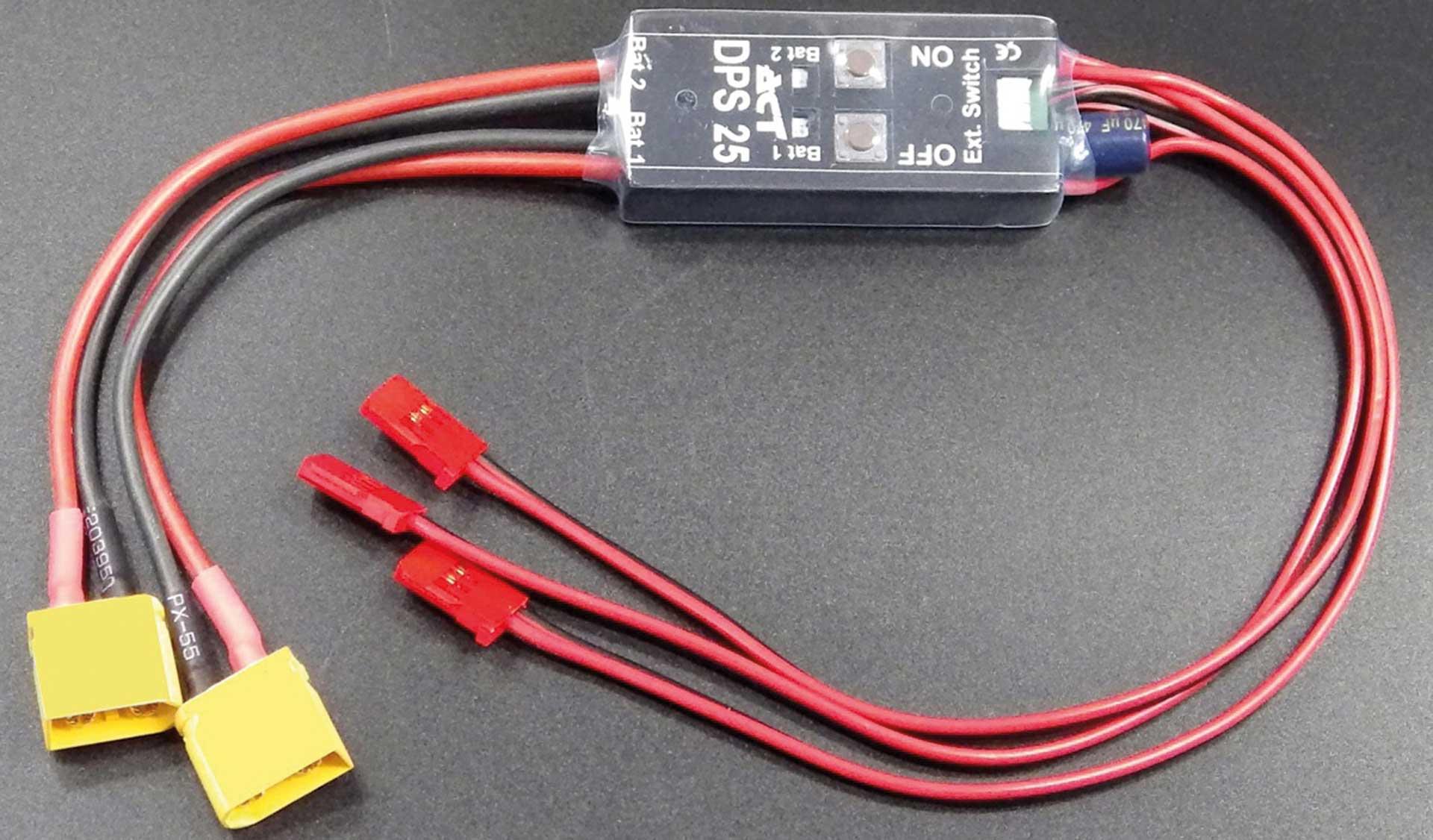 ACT DPS-25 V2 Akkuweiche (XT) m. elektr. Sicherheitsschalter