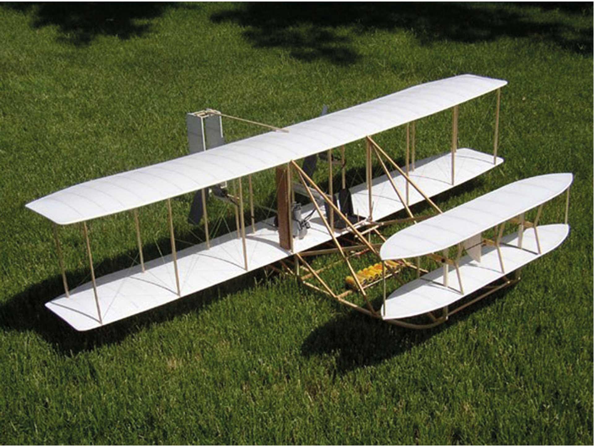 "DARE DESIGN WRIGHT MILITARY FLYER 1909 41,5"" Holzbausatz"