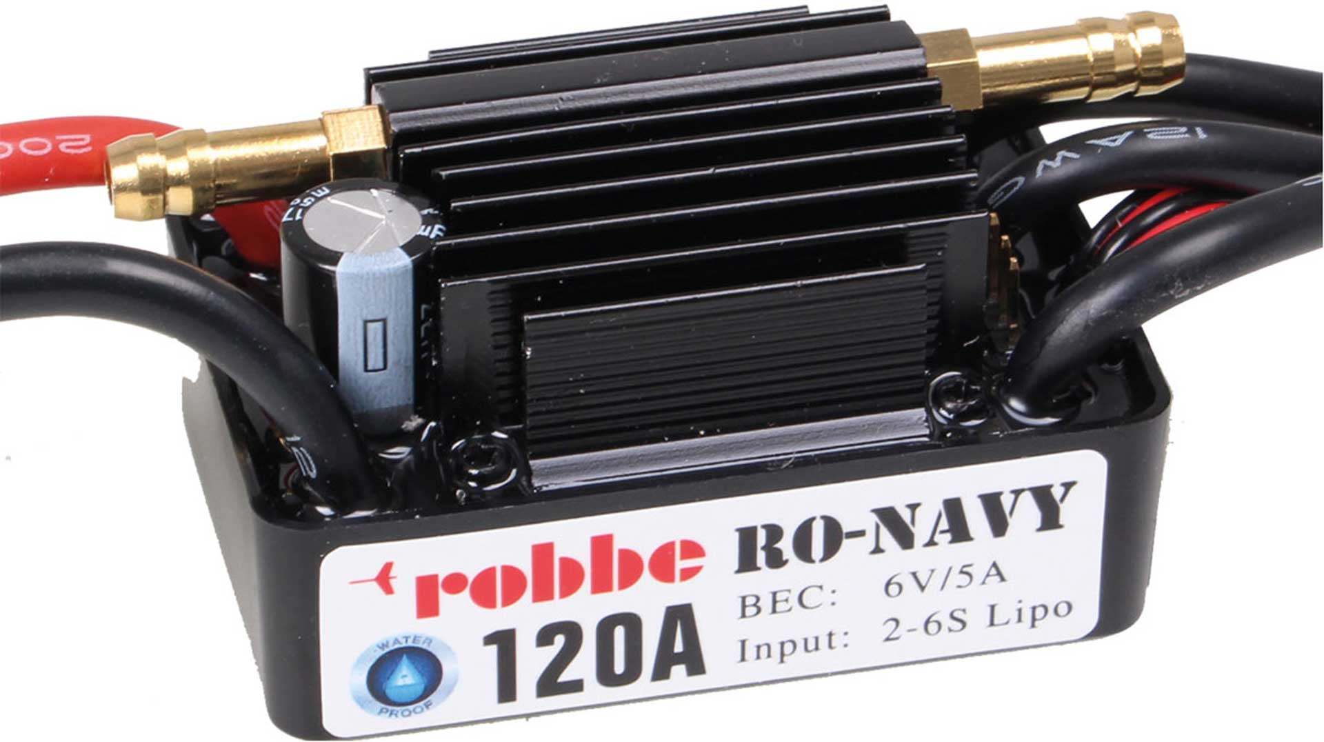 Robbe Modellsport RO-CONTROL NAVY 6-120 2-6S -120A BEC REGLER