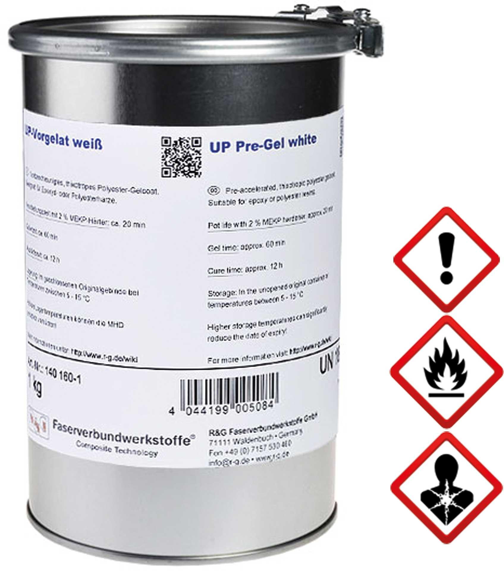 R&G UP-Vorgelat (WEISS) Dose/ 1 kg
