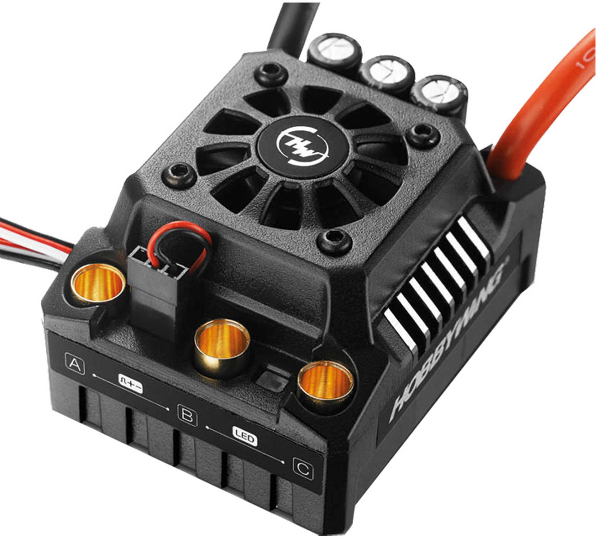 HOBBYWING EZRUN ESC MAX8 V3 150A BEC 6A 3-6S WP WITH T-CONNECTOR FOR 1/8 CARS