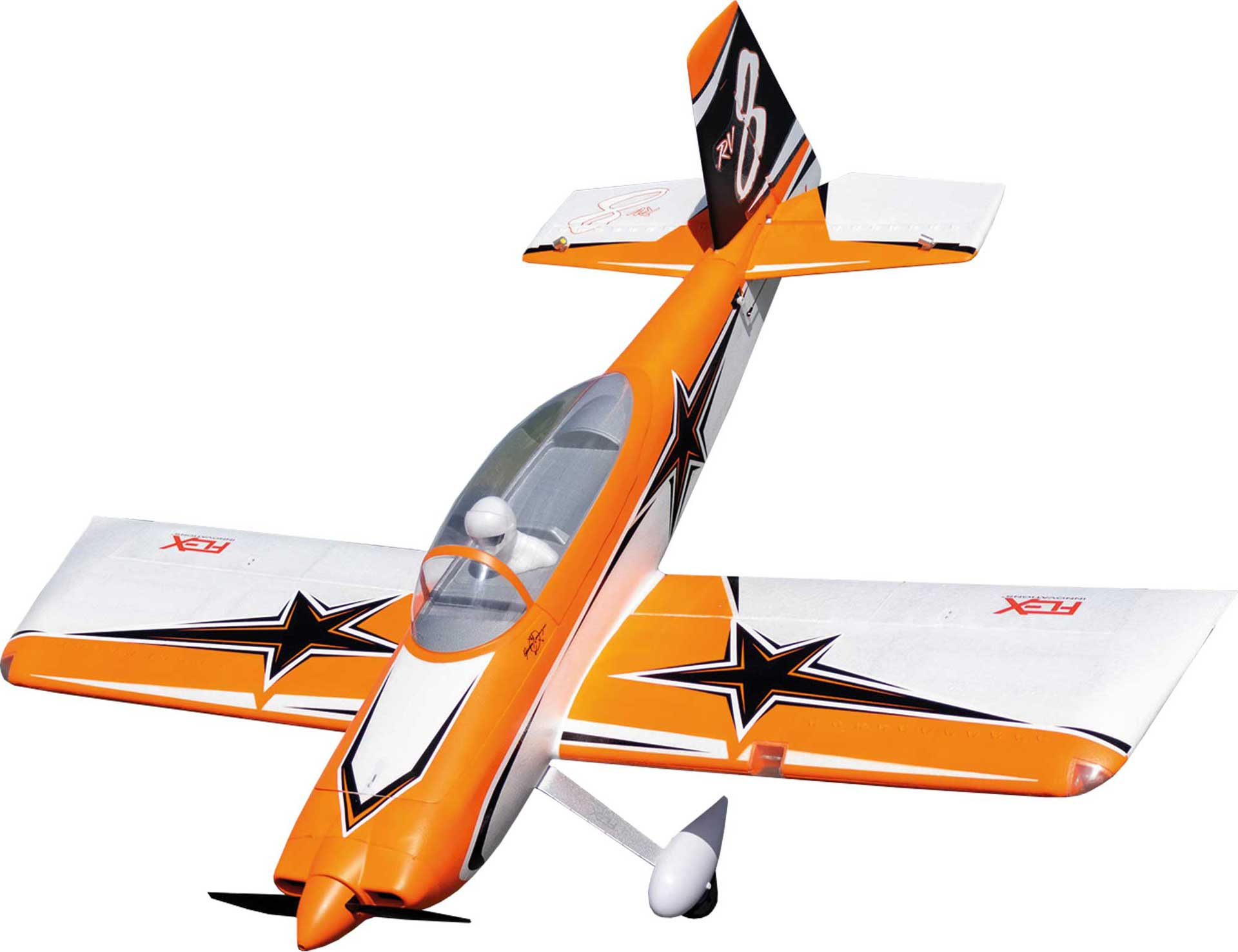 PREMIER AIRCRAFT RV-8 SUPER PNP ORANGE MIT AURA 8