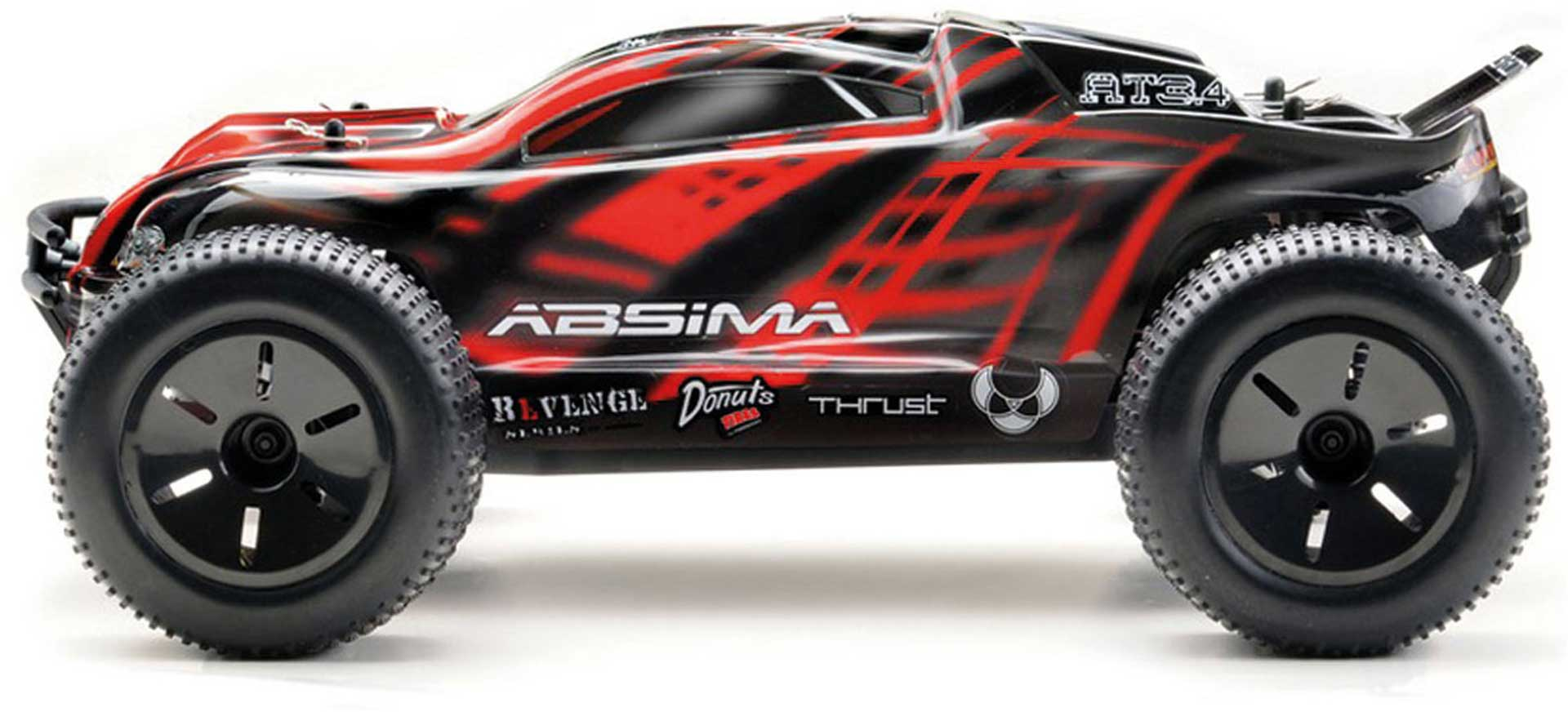 ABSIMA AT3.4 TRUGGY KIT 4WD RACE TRUCK 1/10 BAUSATZ