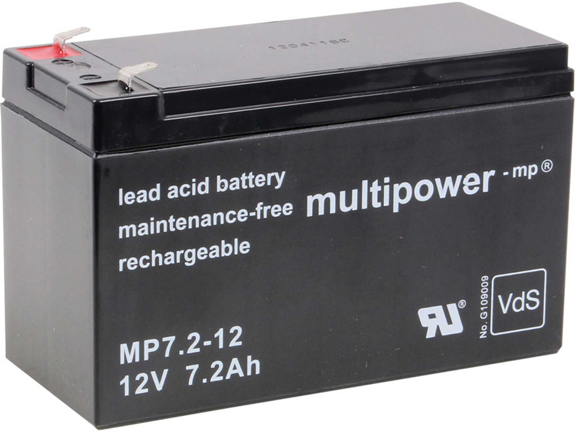 MULTIPOWER LEAD ACID BATTERY 12V/7.2AH