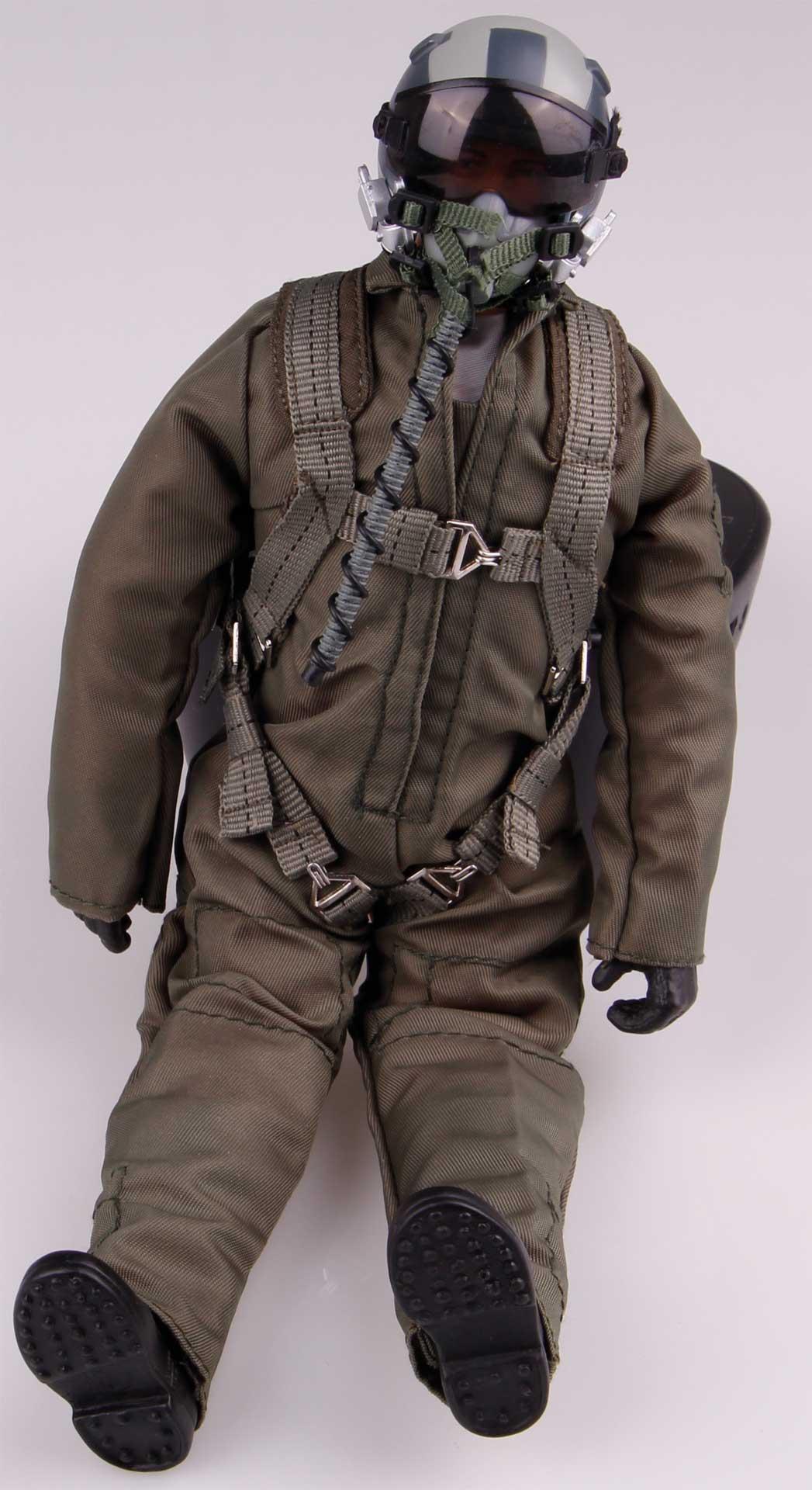 WARBIRD PILOTS Scale Pilot JET modern 1:7-1:8 mit Kopfansteuerung (HV Servo)