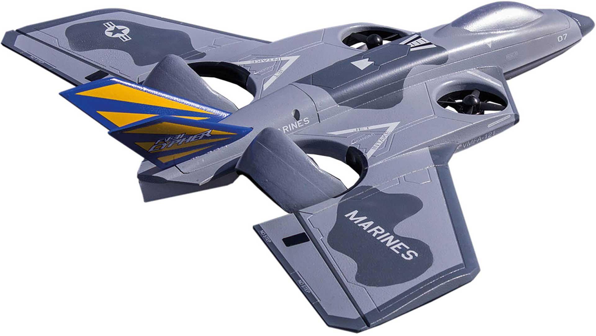 PREMIER AIRCRAFT FV-31 CYPHER VTOL SUPER PNP GREY/MARINE