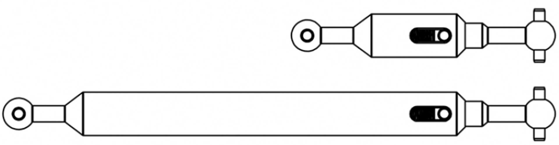 TAMIYA 1:14 Antriebswellen-Set (2) 6x4 Ausgl.