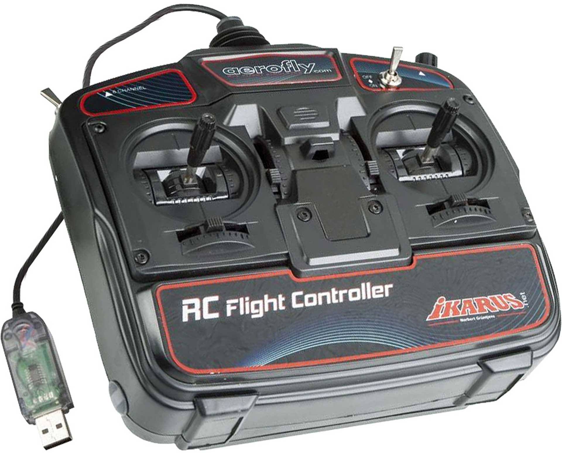 IKARUS RC FLIGHT CONTROLLER FOR AEROFLY RC7 GAME COMMANDER FOR WIN AND MAC