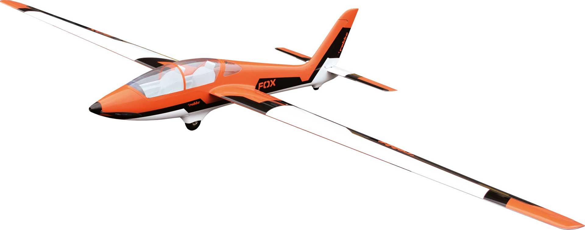 Robbe Modellsport MDM-1 FOX 3,5m Elektro PNP Voll GFK/CFK lackiert Orange Kunstflug Segelflugzeug