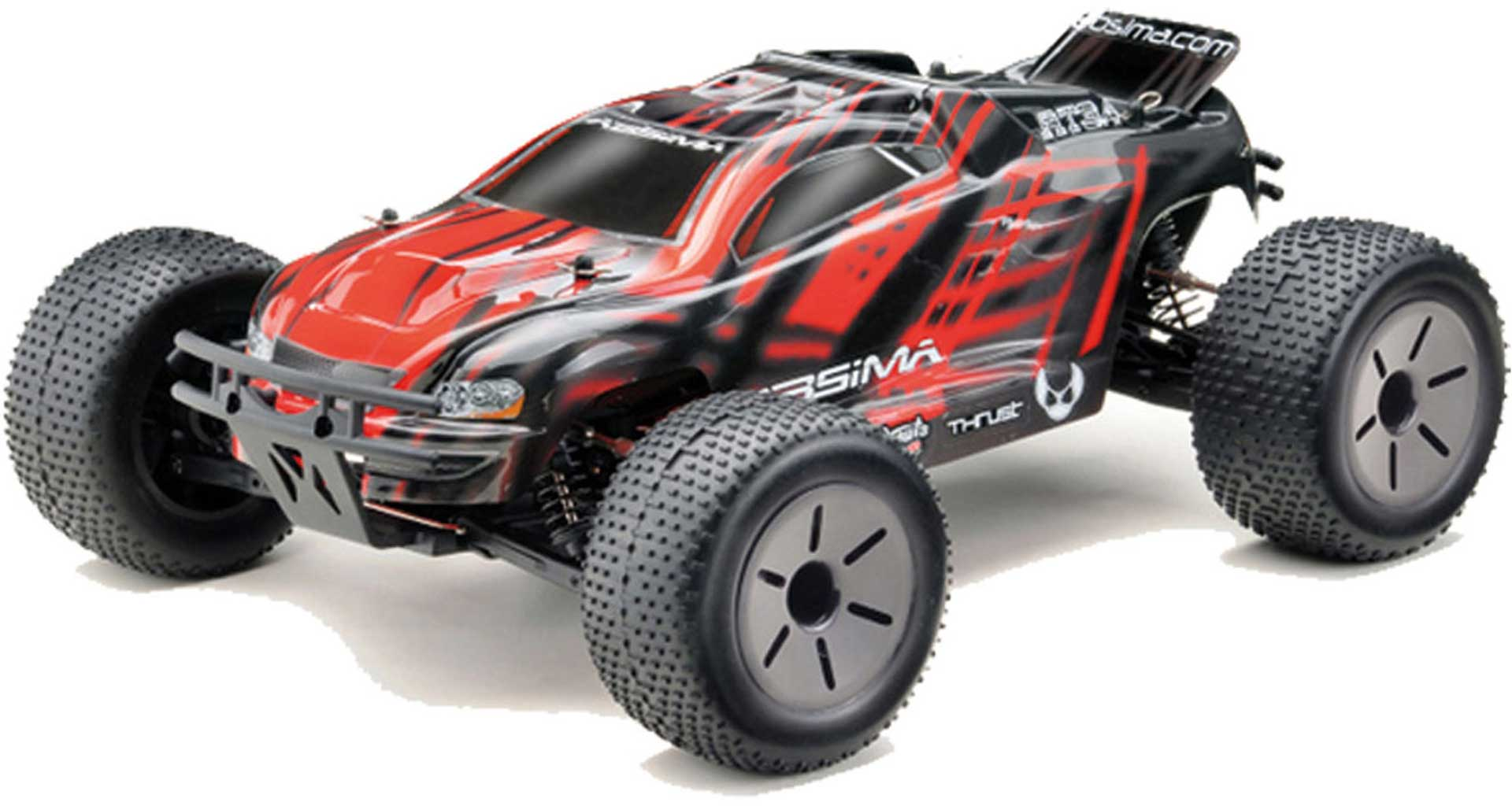 ABSIMA AT3.4 TRUGGY RTR 4WD + AKKU & LADER RACE TRUCK 1/10