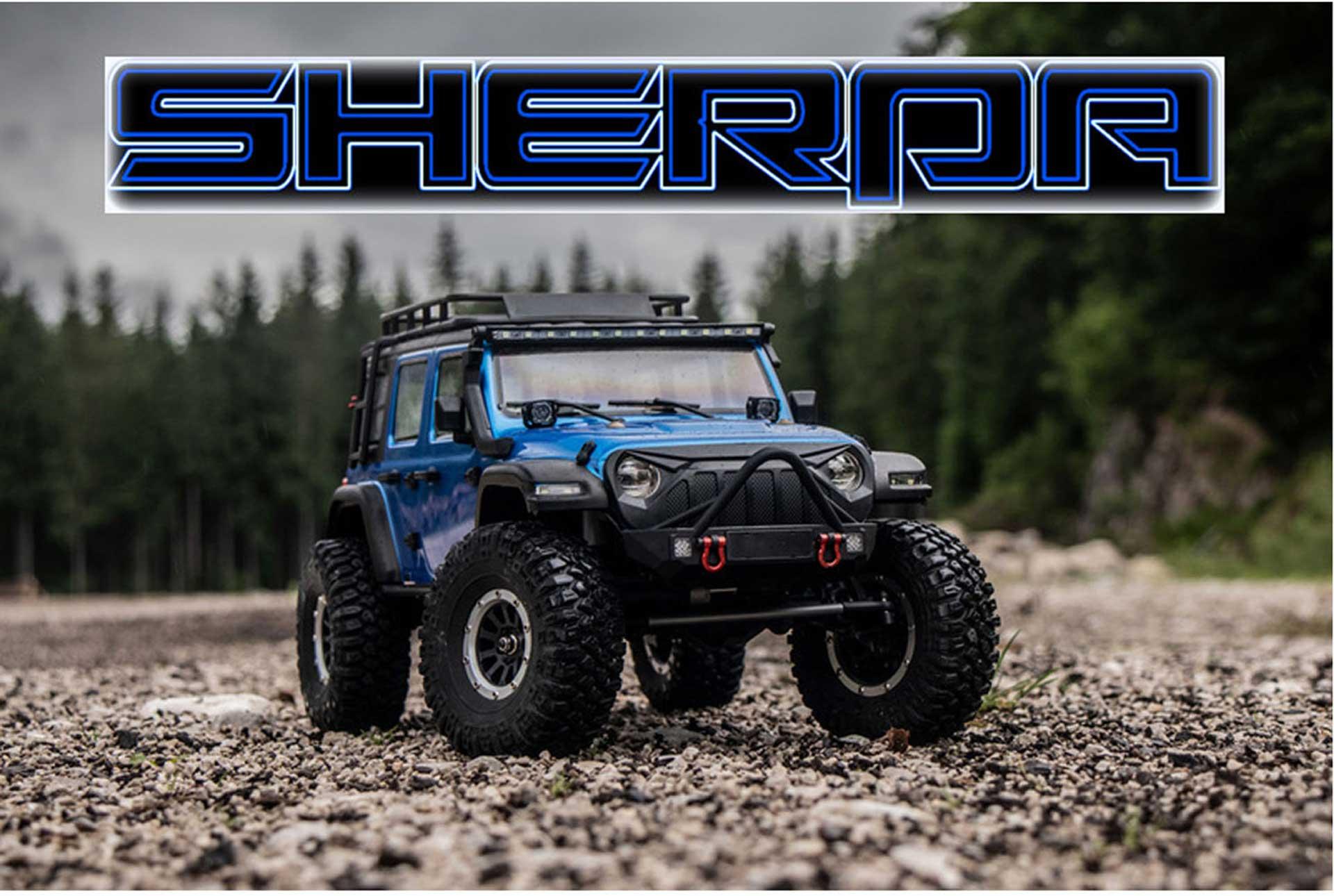 """ABSIMA CR3.4 """"SHERPA"""" 1/10 Blau RTR Crawler"""