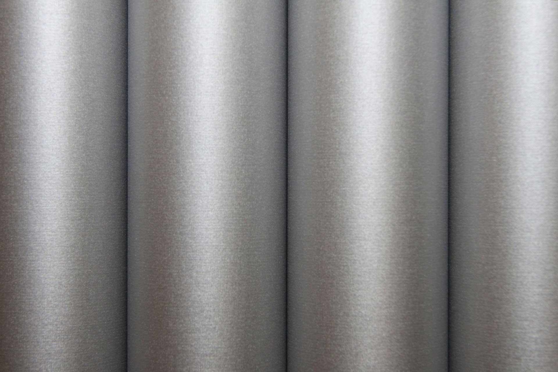 ORACOVER Oratex Silk Gloss Silber 1 Meter # 191 Gewebefolie