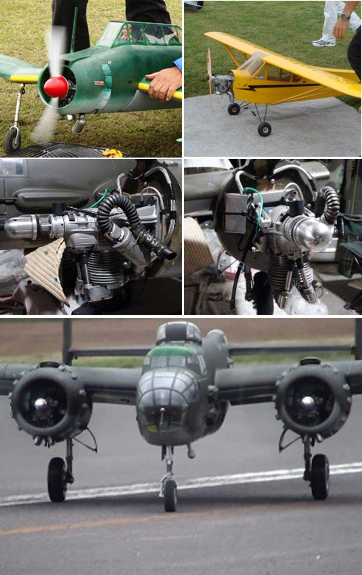 SAITO FG-30B BENZIN MOTOR