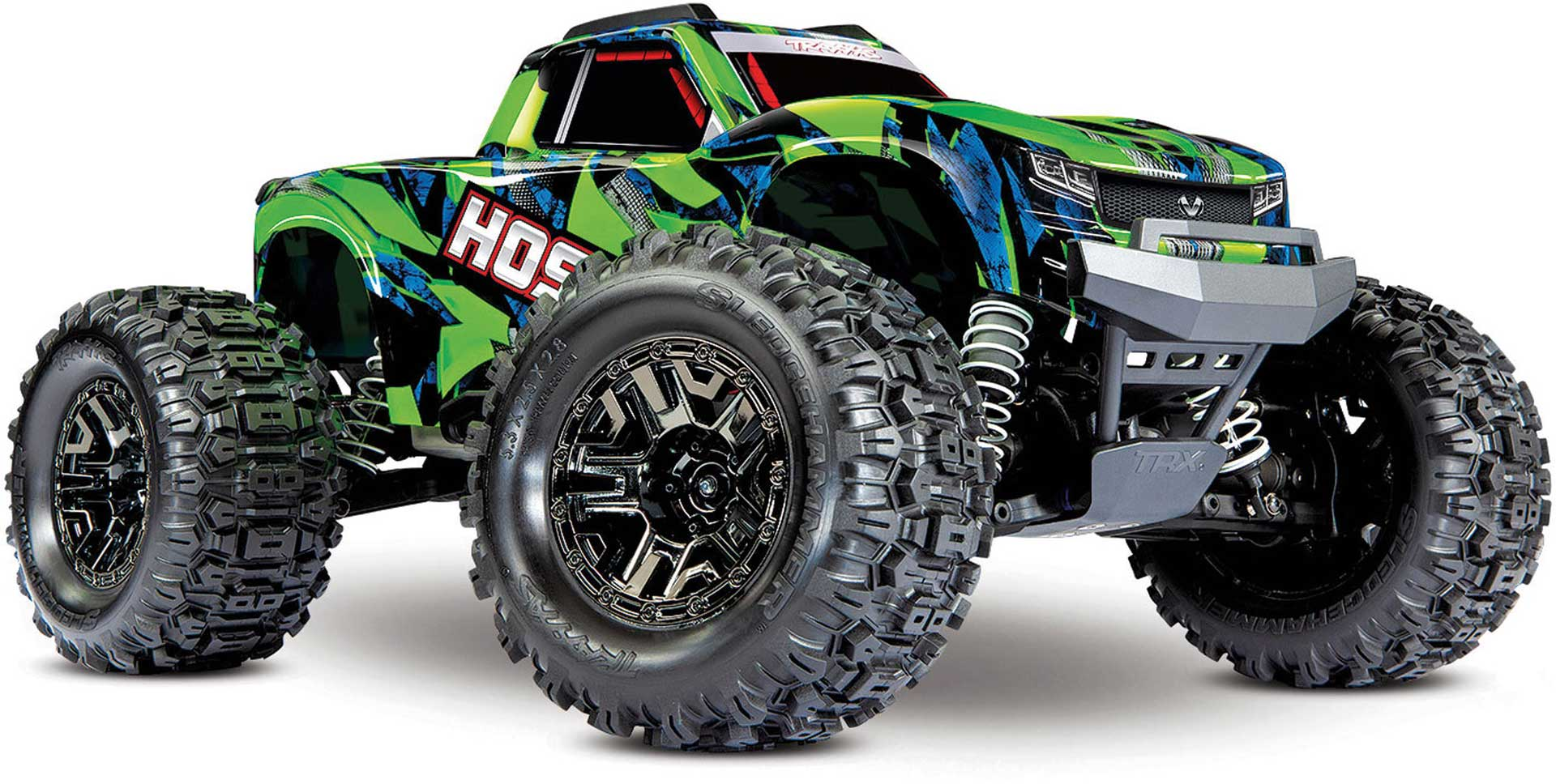 TRAXXAS HOSS 4x4 VXL 3S 1/10 Monster Truck Green Brushless without battery/charger