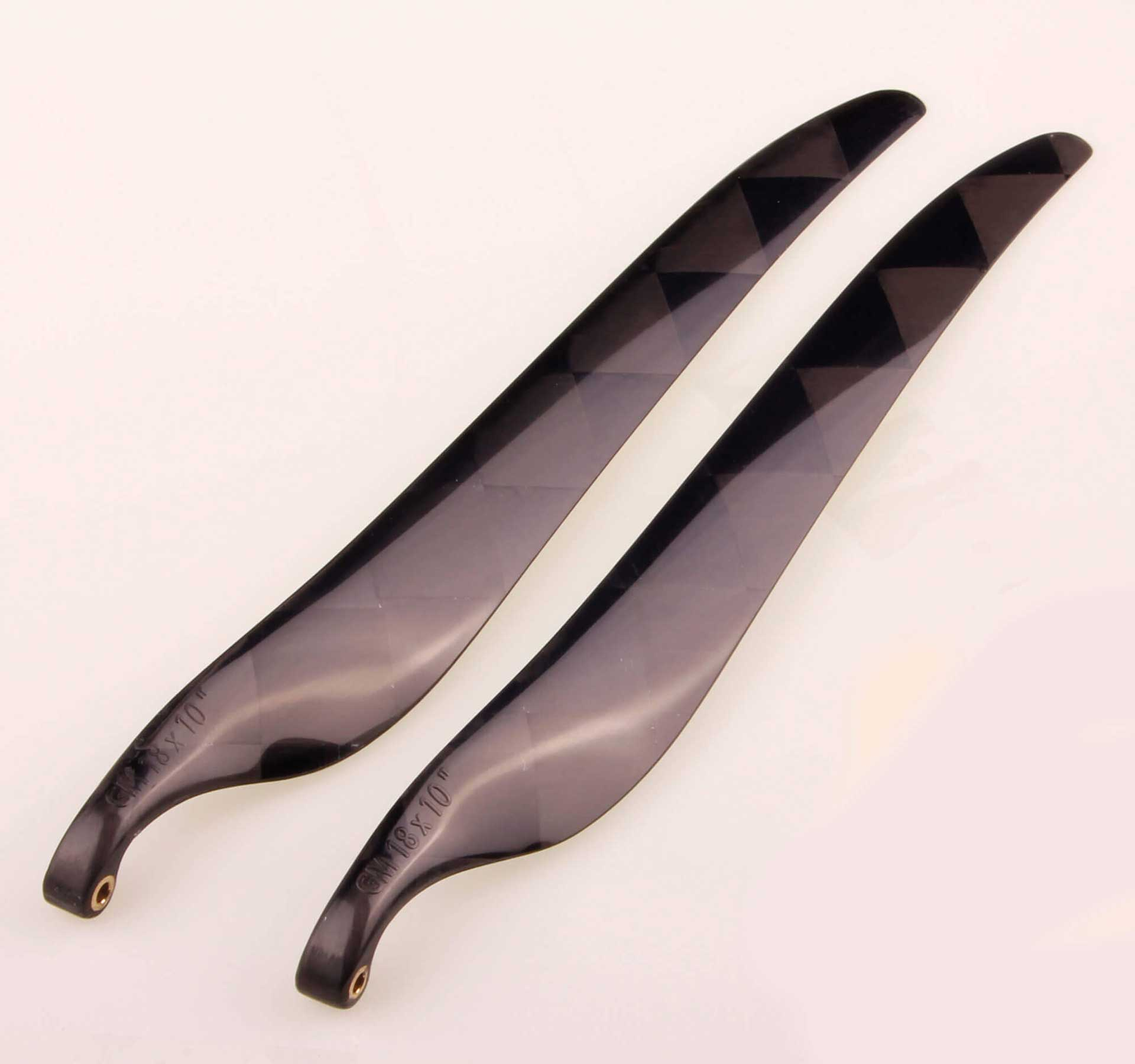 GM Propellers Folding propeller 18x10 Carbon black 1 pair