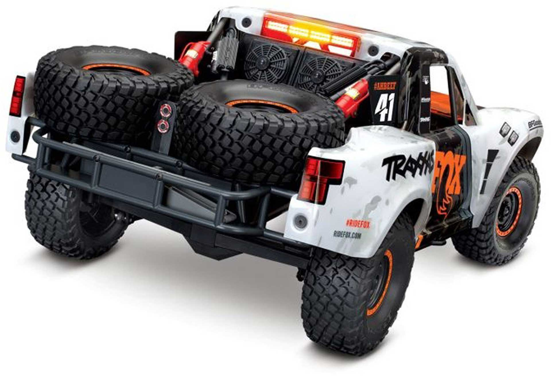 TRAXXAS UNLIMITED DESERT RACER 4X4 VXL RTR +LED FOX-EDITION 1/ 7 4WD PRO-SCALE RACE-TRUCK BRUSHLESS OHN