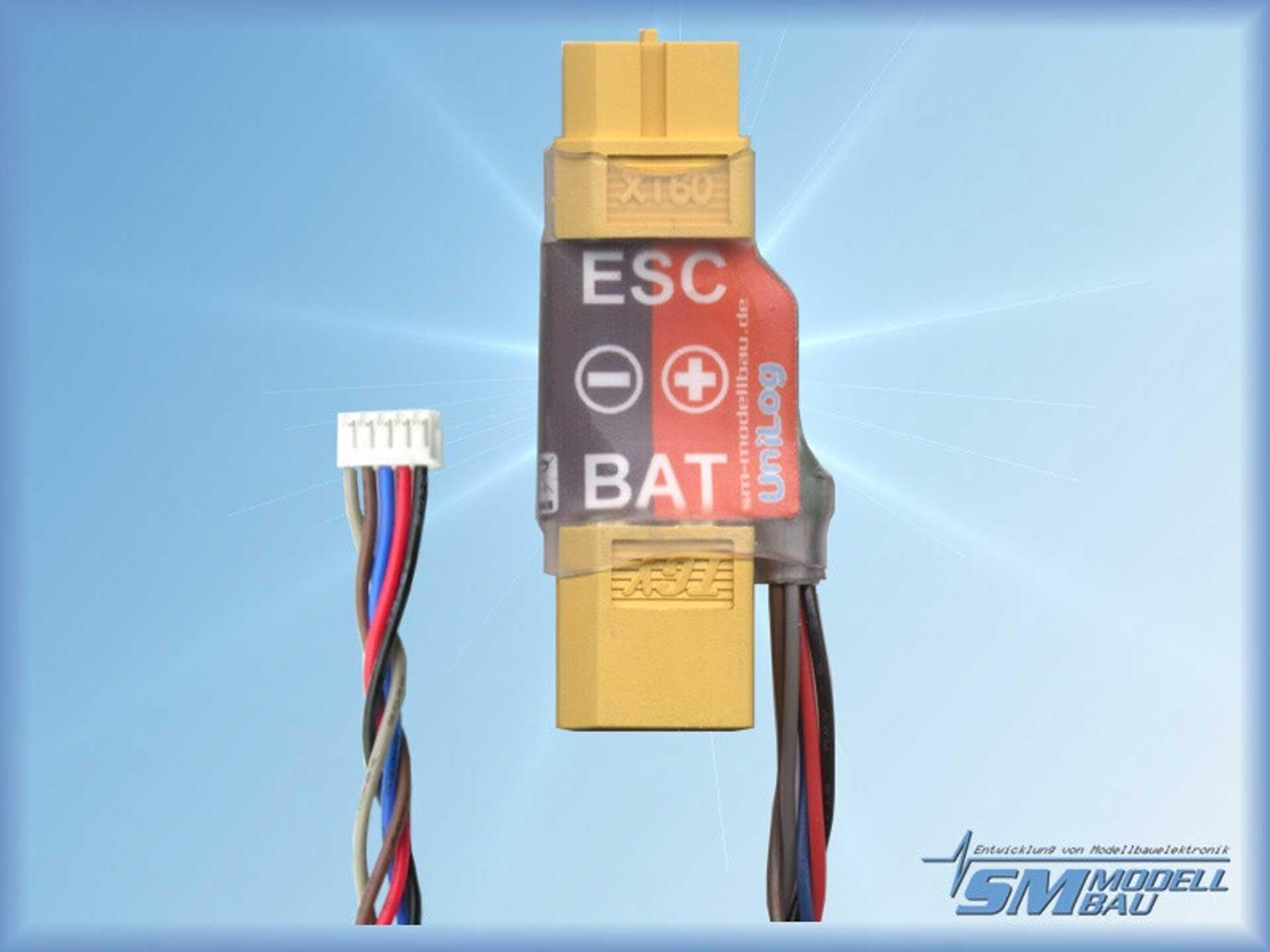 SM-Modellbau Unilog Stromsensor 80A XT-60